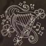 Celtic Harp - Fancy $18.00
