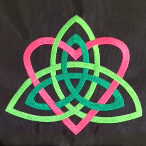 Trinity Knot with Heart