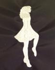 Irish Dancer - Girl - One Thread Color