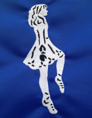 Irish Dancer Girl 2 Thread Colors