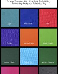 420 Denier Fabric Colors