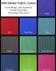 600-denier Fabric Colors