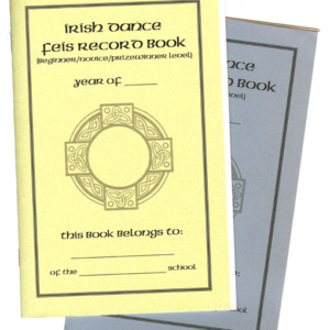 Irish Dance Feis Record Book