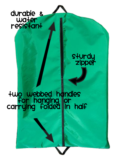 Straight Garment Bag - Outside