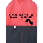 Straight Garment Bag - Interior