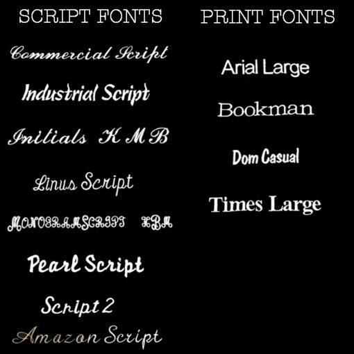 All Lettering Fonts